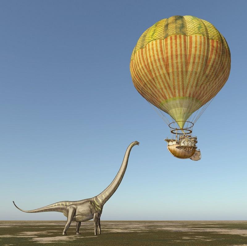 Daína Chaviano: de dinosaurios y otras visiones del futuro.